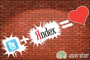 Возврат влияния твиттов на индексацию в Яндексе. Userator