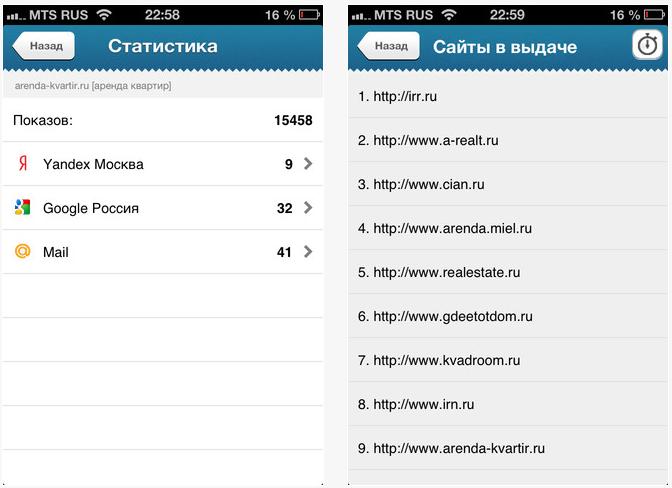 SeoMonitor: программа для просмотра позиций в поисковых системах